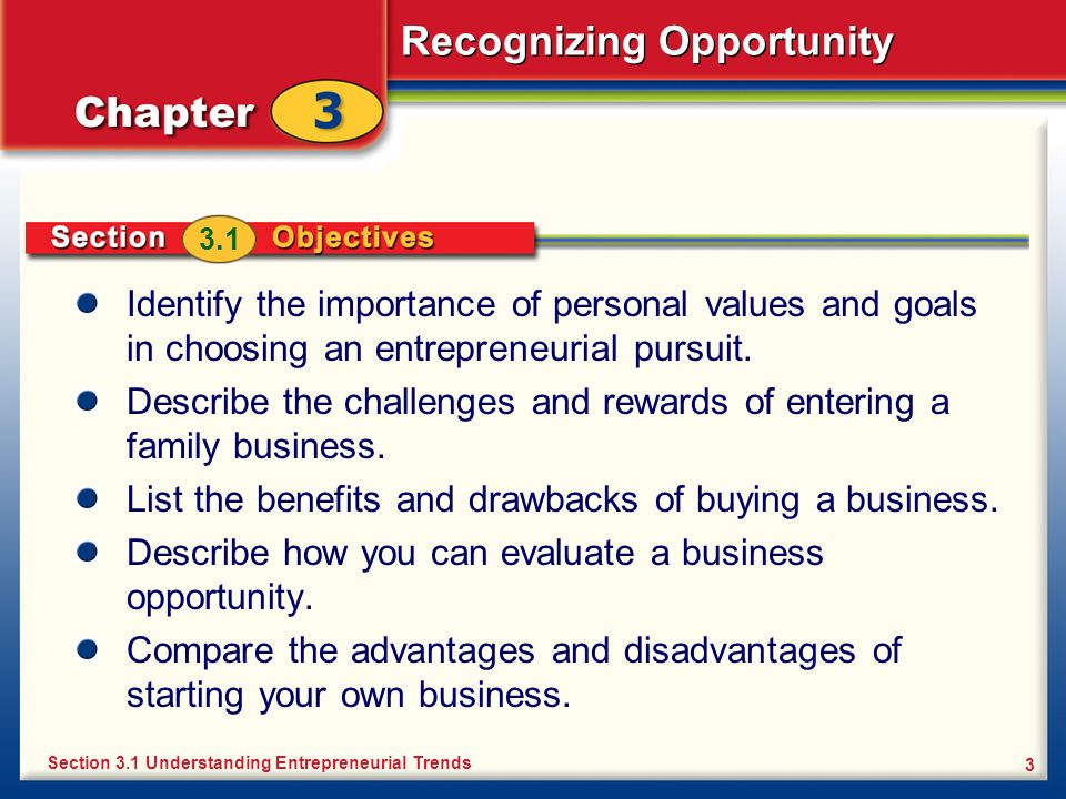 Recognizing Opportunity 34 Buying a Franchise The franchisee is the buyer of a franchise.