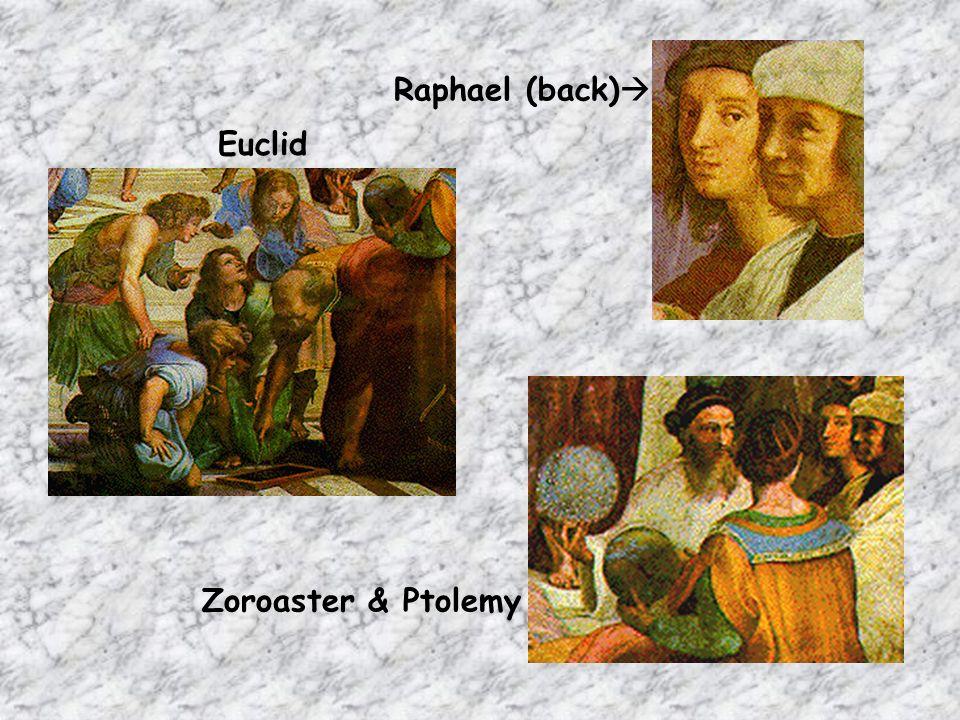 Euclid Zoroaster & Ptolemy Raphael (back)