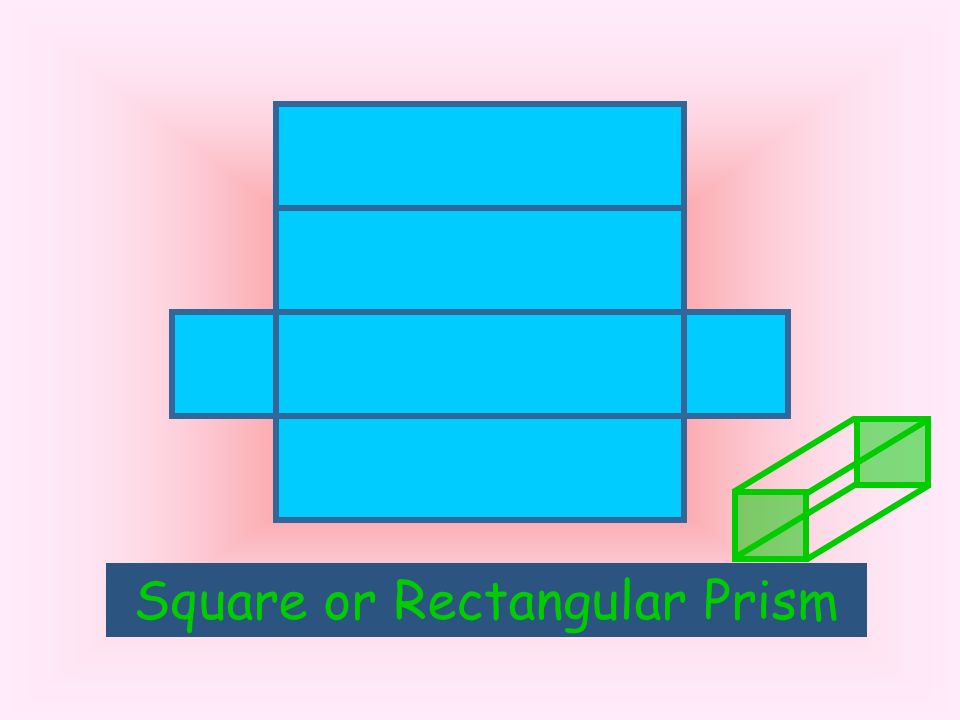 What solid will this net form? Triangular Prism