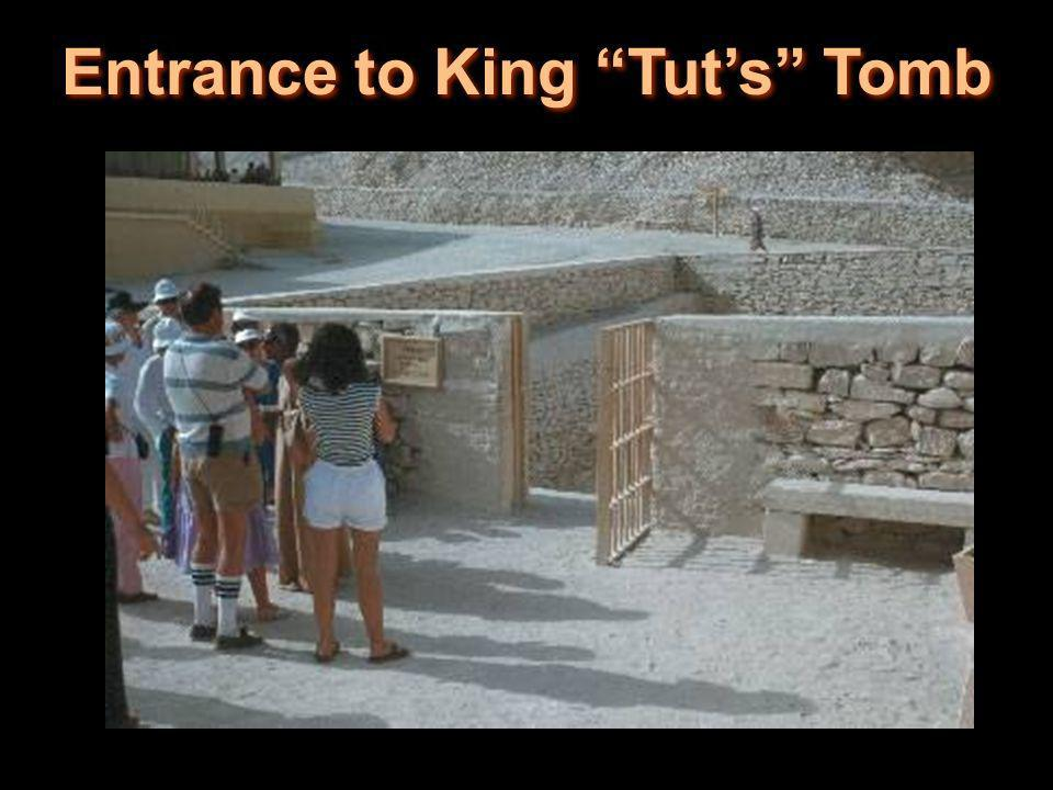 Entrance to King Tuts Tomb