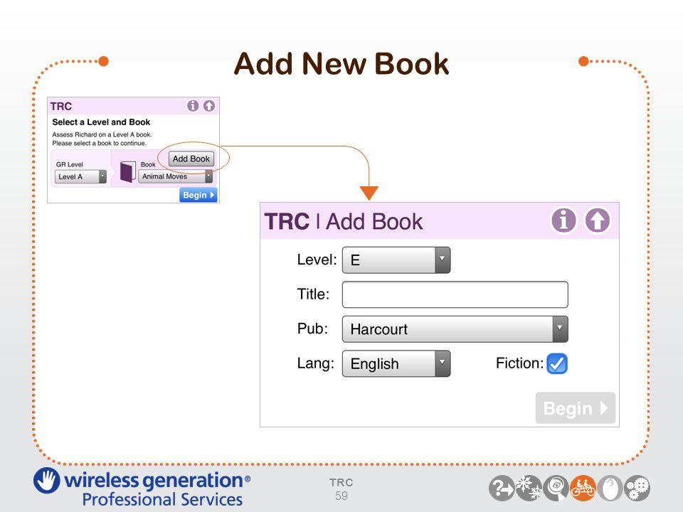 Add New Book TRC 59