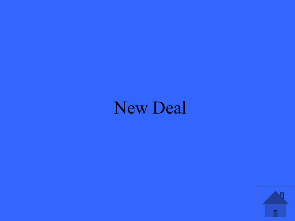 5 New Deal