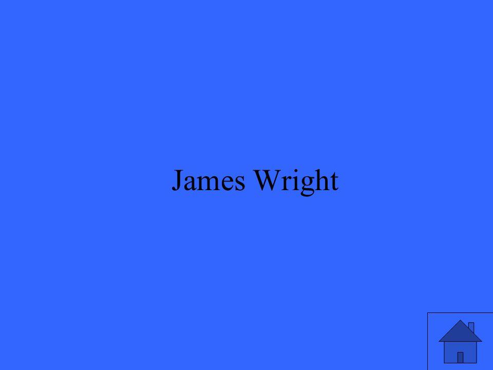 15 James Wright