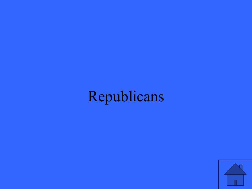 25 Republicans