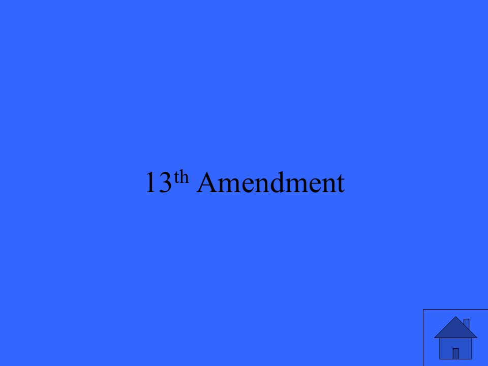 33 13 th Amendment
