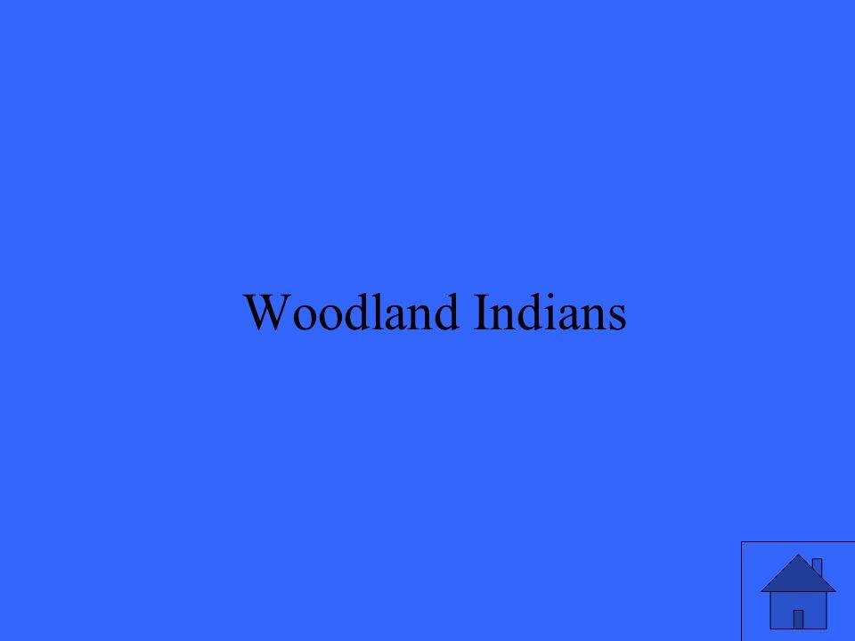 47 Woodland Indians