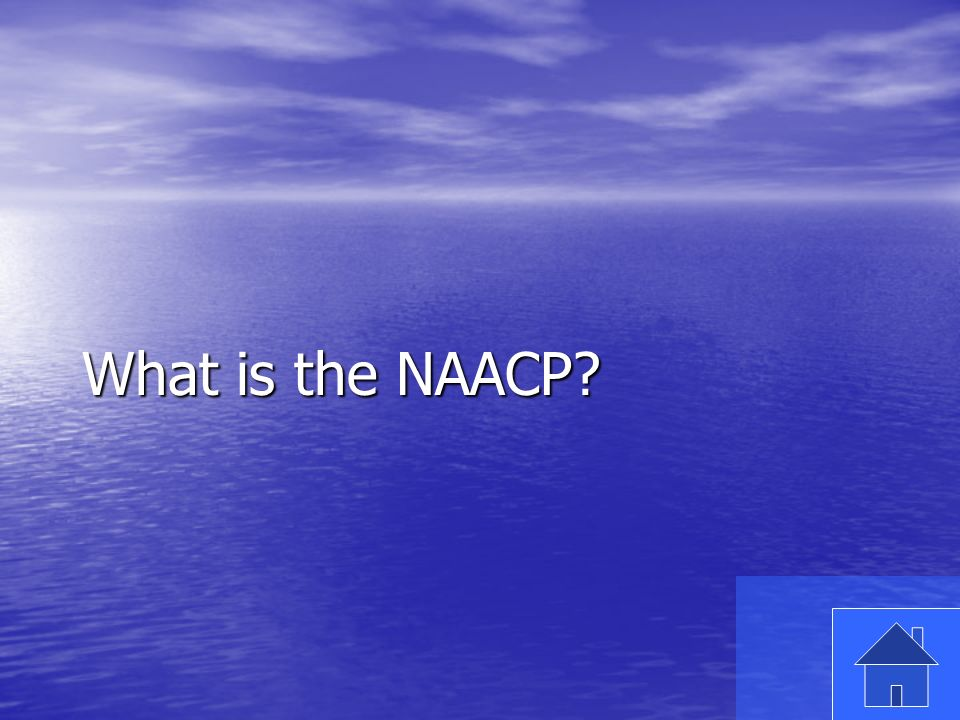 37 What is the NAACP