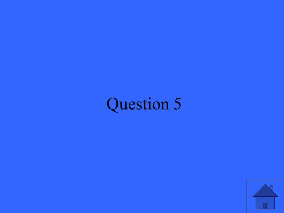 12 Question 5