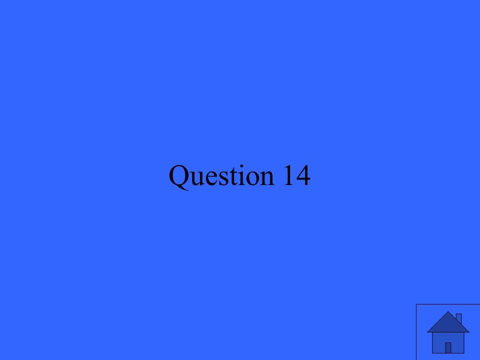30 Question 14