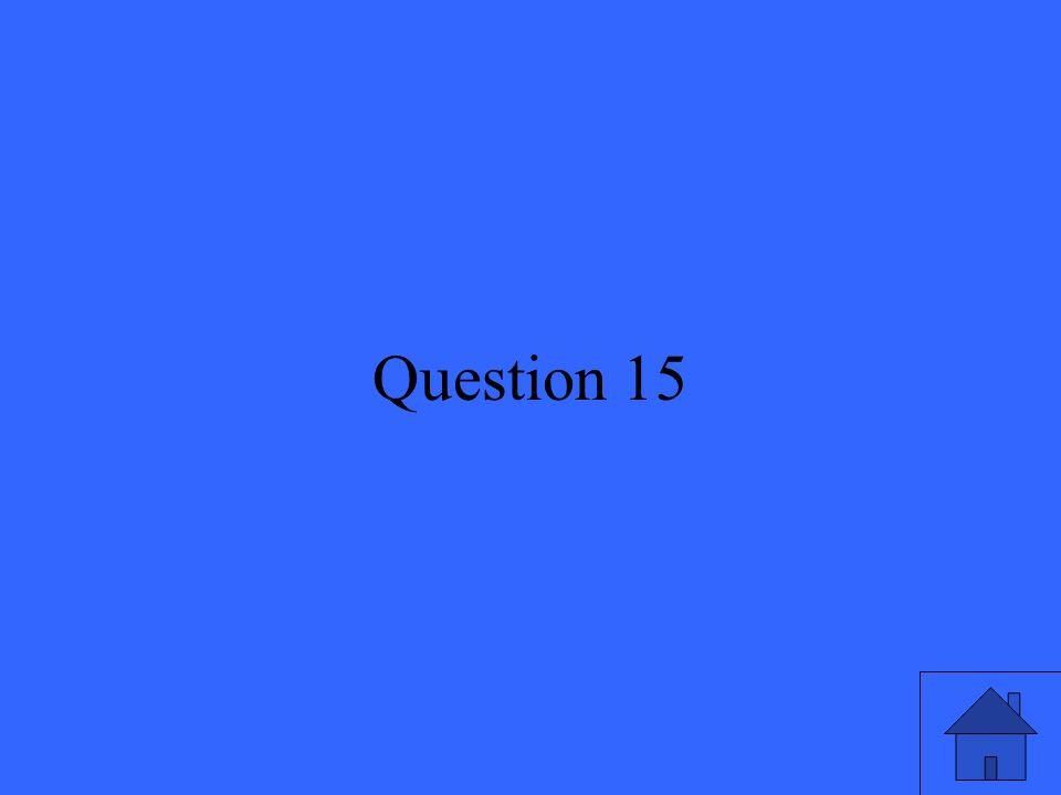 32 Question 15