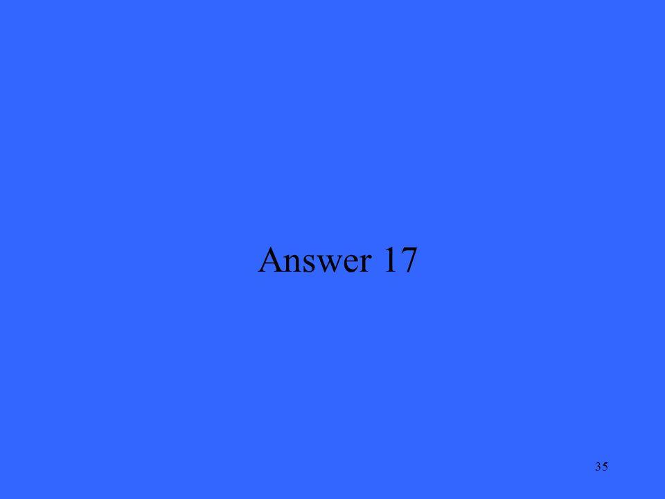 35 Answer 17