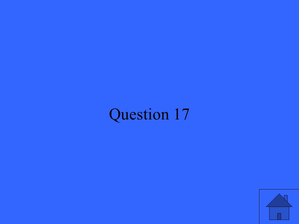 36 Question 17