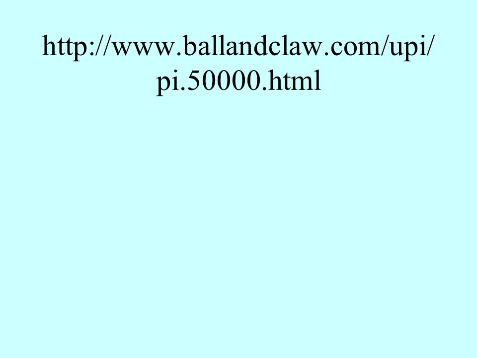 http://www.ballandclaw.com/upi/ pi.50000.html