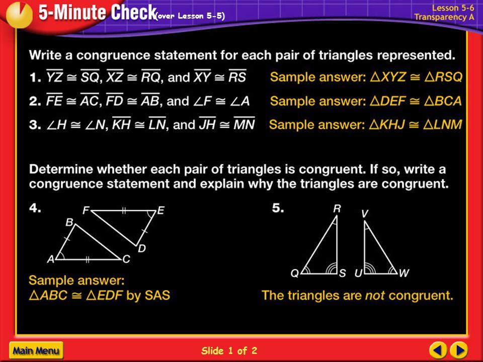 1-1B Slide 1 of 2 (over Lesson 5-5)
