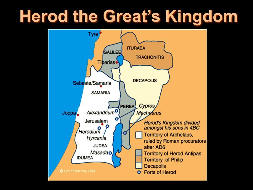 Herod the Greats Kingdom