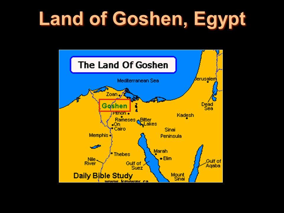 Land of Goshen, Egypt