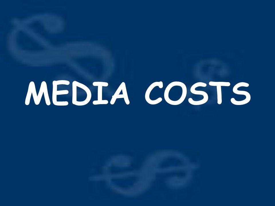 MEDIA COSTS