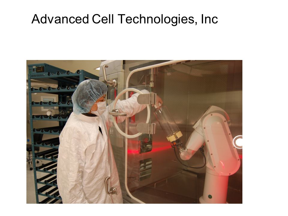 Advanced Cell Technologies, Inc