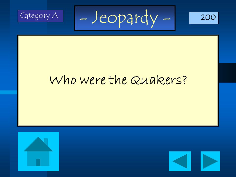 - Jeopardy - This is the term is used by geographers when they divide places into groups based on physical features.