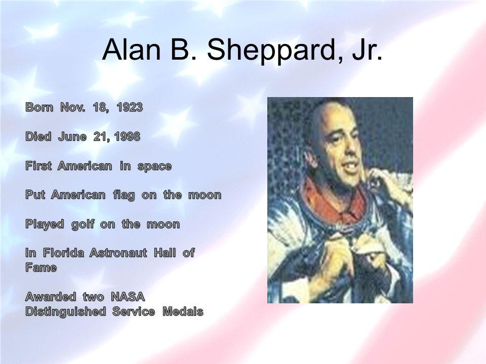 Alan B. Sheppard, Jr.