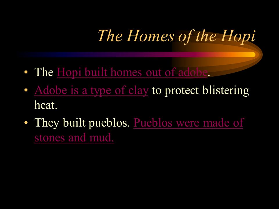 Hopi Homes Pueblo Homes
