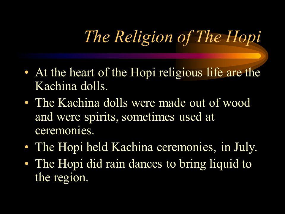 Religion Kachina dolls, Ceremonies, Rituals, and Religion