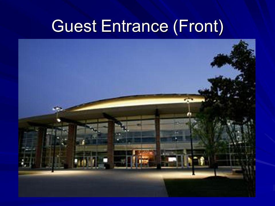 Guest Entrance (Front)