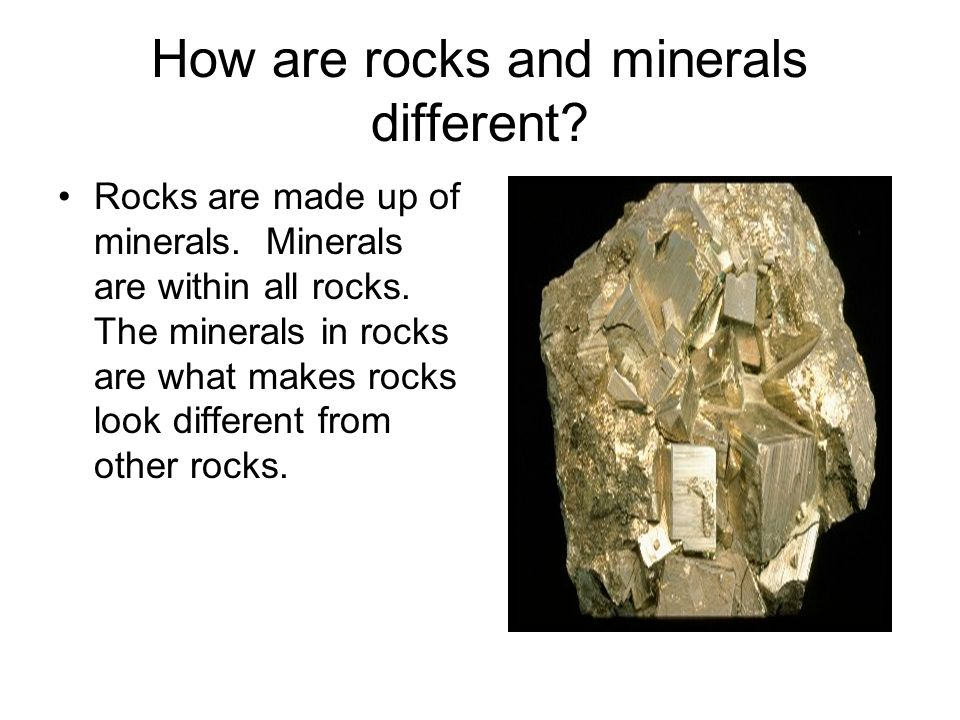 What are minerals? Minerals are solid natural made objects that have never been alive. Minerals can be rock-like or metals.