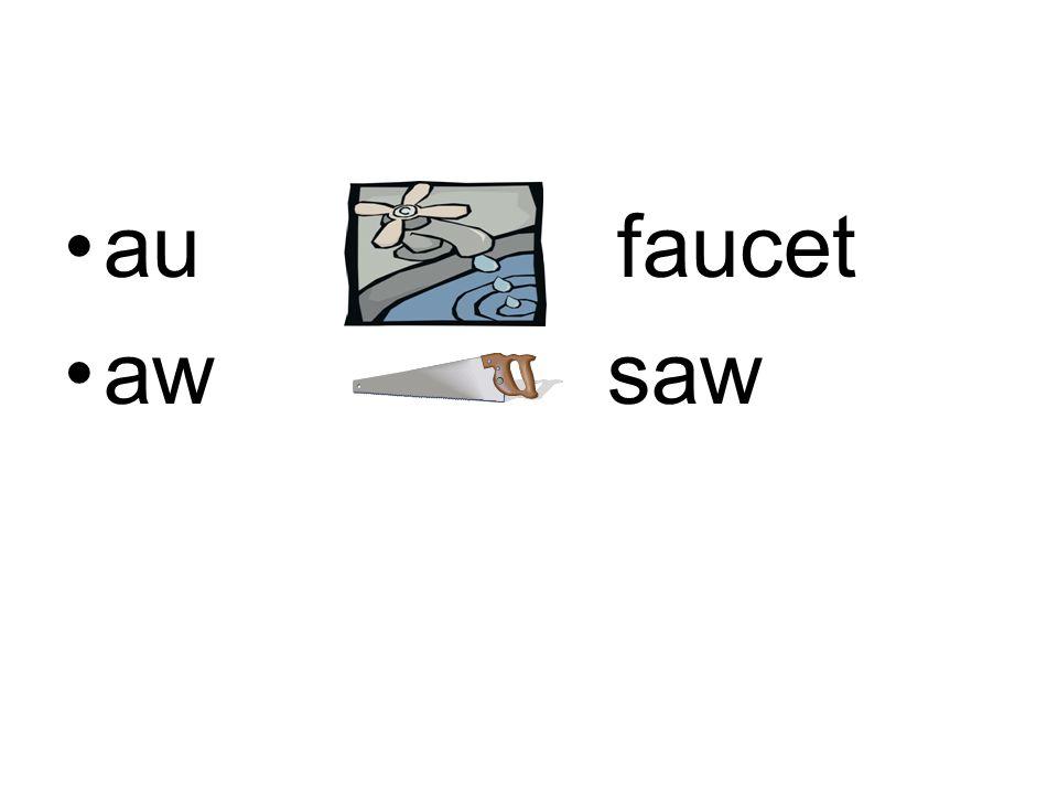au faucet aw saw