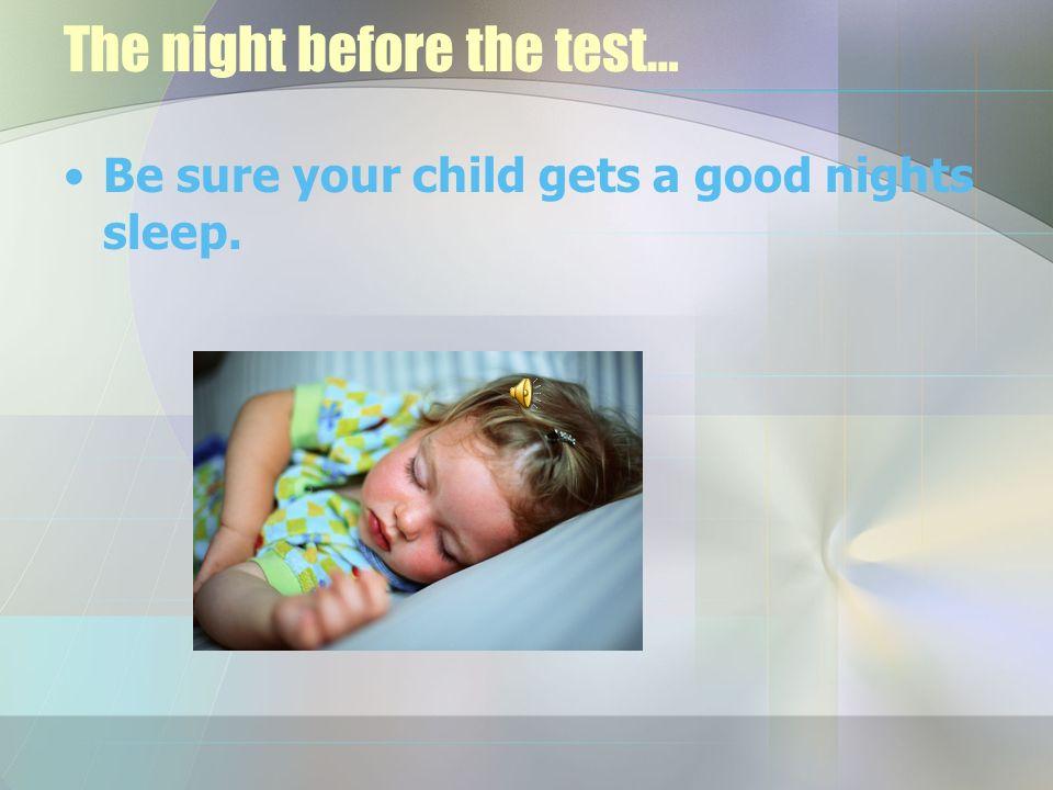CRCT Test Taking Tips!