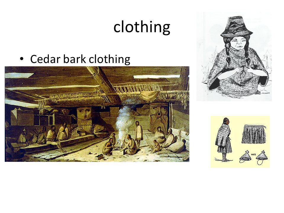 clothing Cedar bark clothing