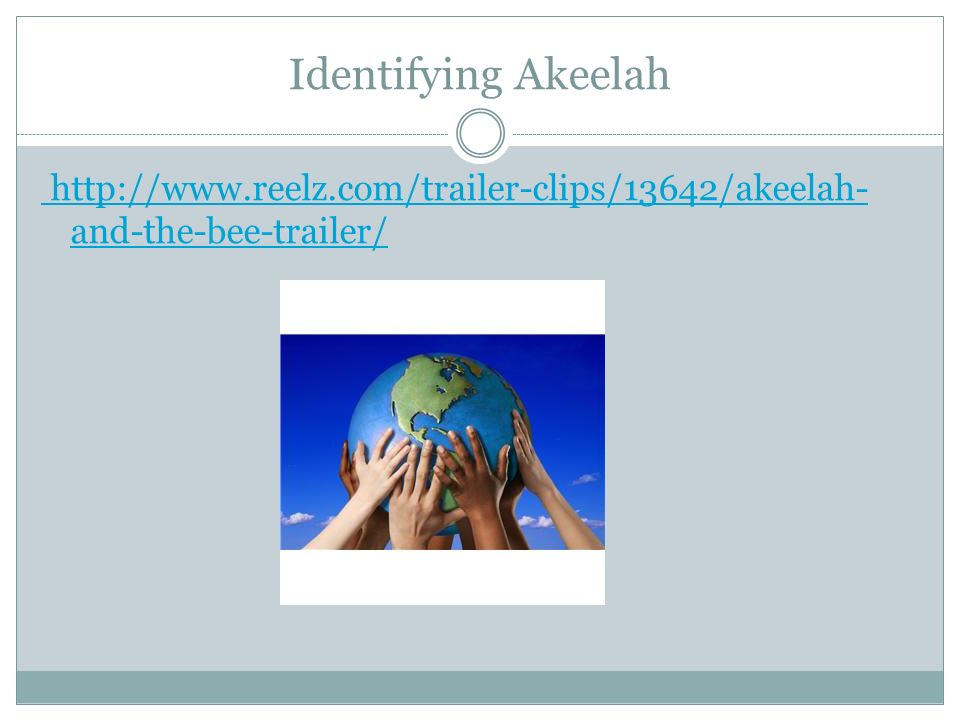 Identifying Akeelah http://www.reelz.com/trailer-clips/13642/akeelah- and-the-bee-trailer/