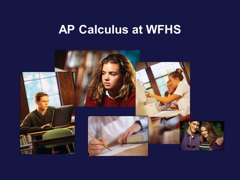 AP Calculus at WFHS