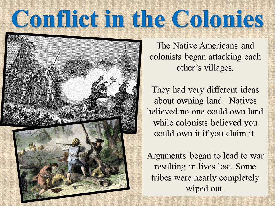 As colonists settled and spread across New England, they entered land that was already lived on by Native Americans.