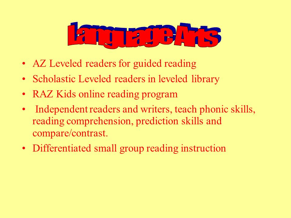 AZ Leveled readers for guided reading Scholastic Leveled readers in leveled library RAZ Kids online reading program Independent readers and writers, t