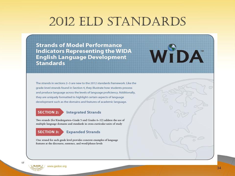 2012 ELD Standards 34