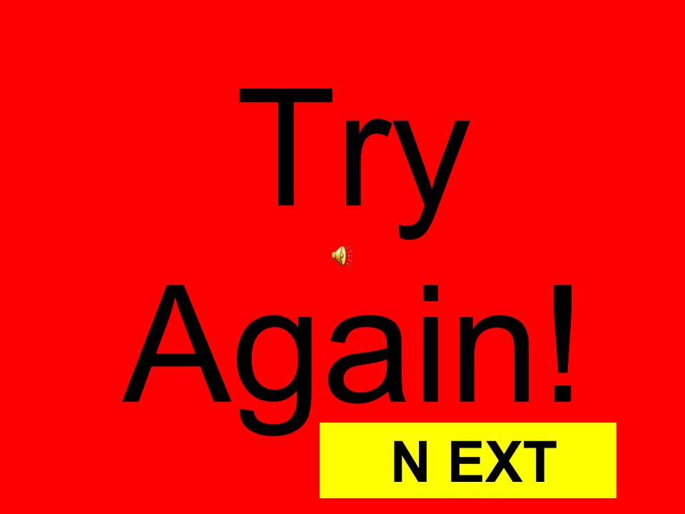 Try Again! N EXT