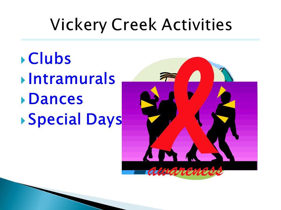 Clubs Intramurals Dances Special Days