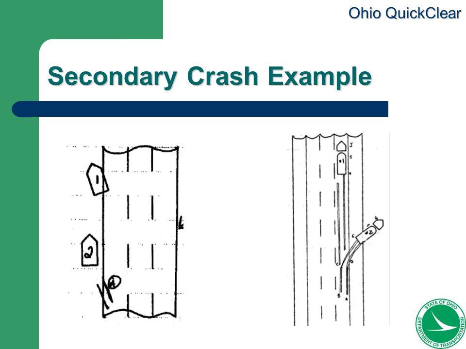Ohio QuickClear Secondary Crash Example