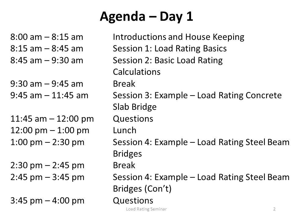 Load Rating Seminar13 What is a Bridge.