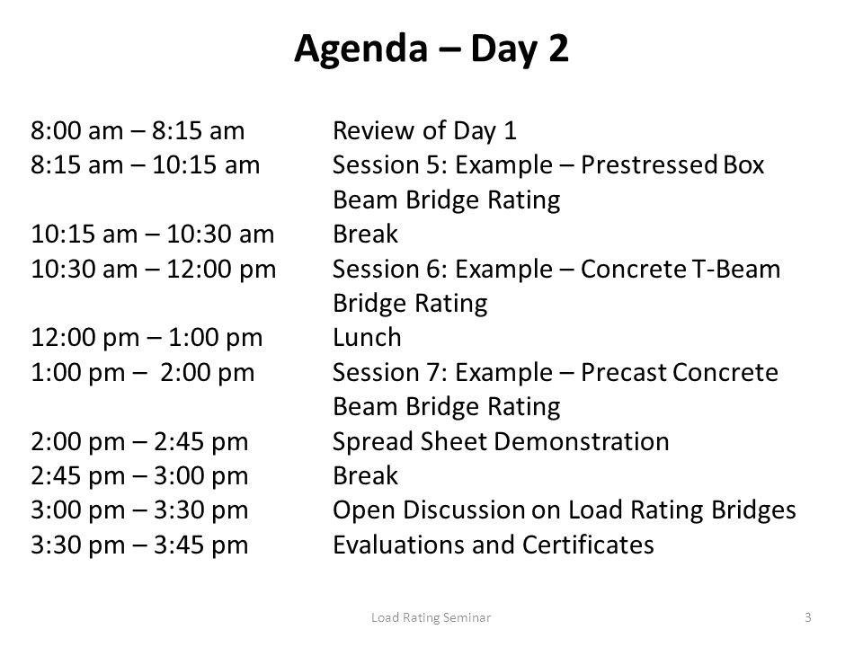 Load Rating Seminar14 What is a Bridge.