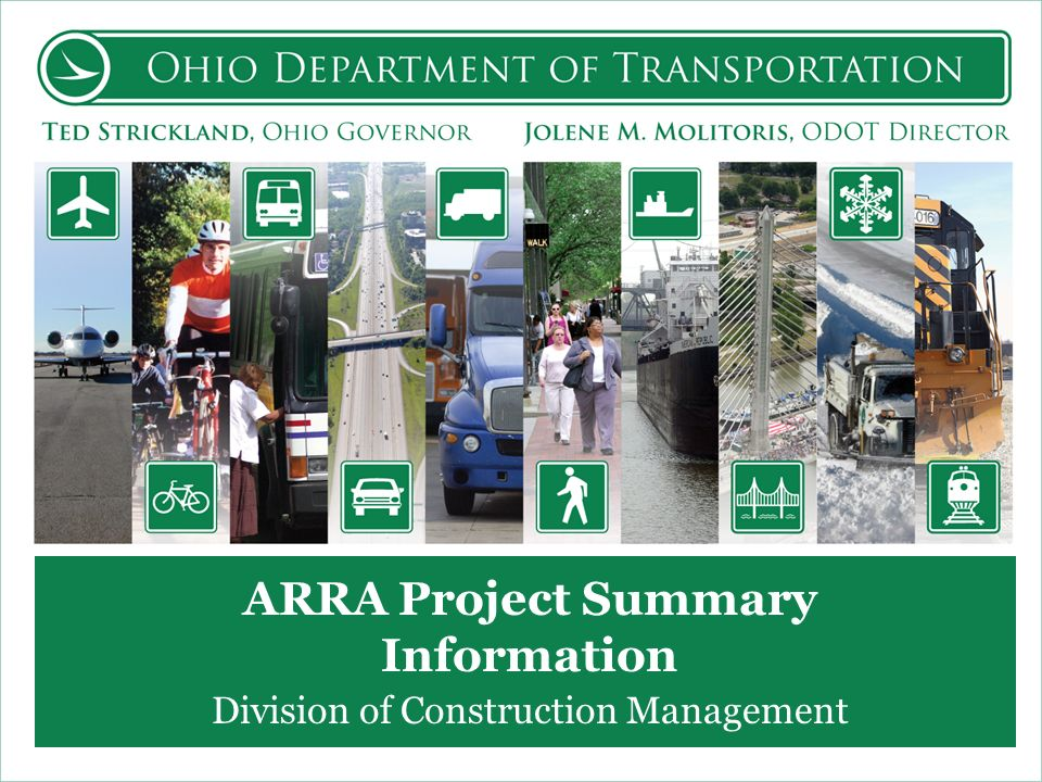 ARRA Project Summary Information Division of Construction Management