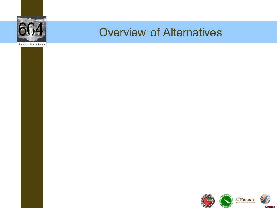Overview of Alternatives