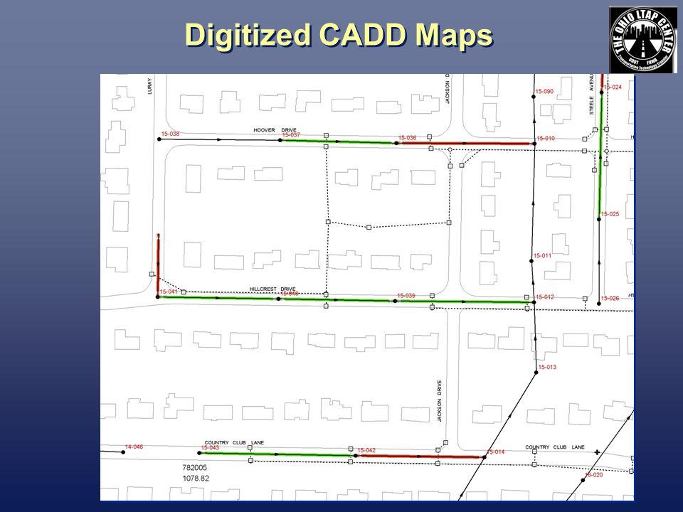 Digitized CADD Maps