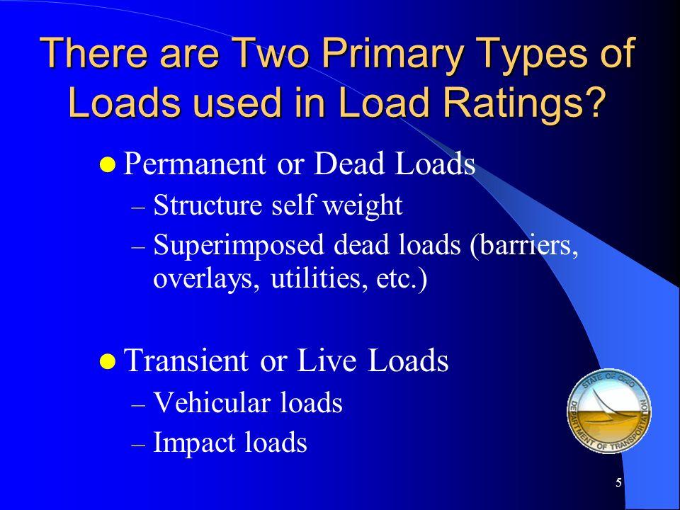 4 The Load aspect of Bridge Load Rating