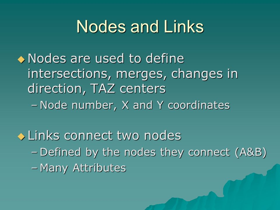 Common Connectivity Errors Missing nodes Missing nodes Missing centroid connectors Missing centroid connectors