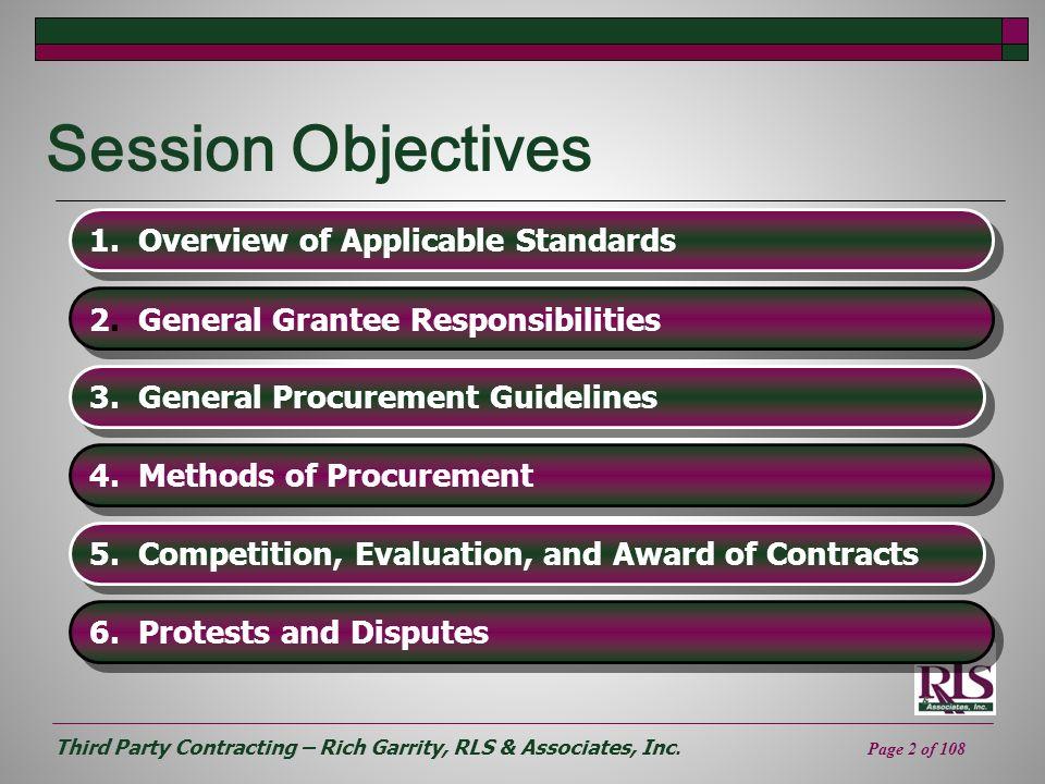 Third Party Contracting – Rich Garrity, RLS & Associates, Inc.