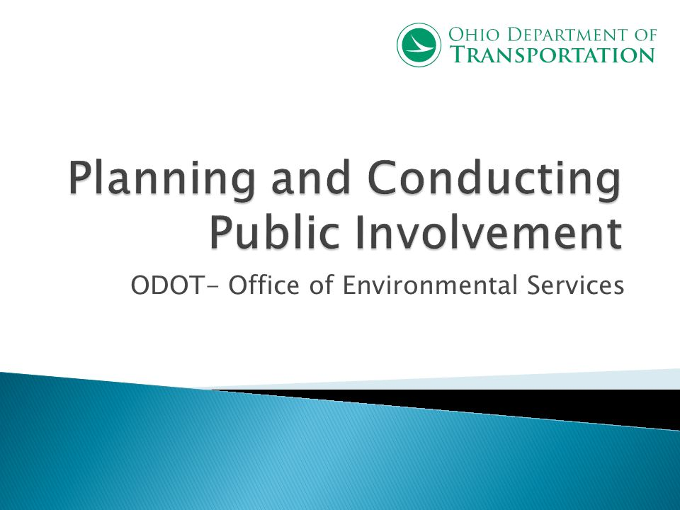 ODOT- Office of Environmental Services