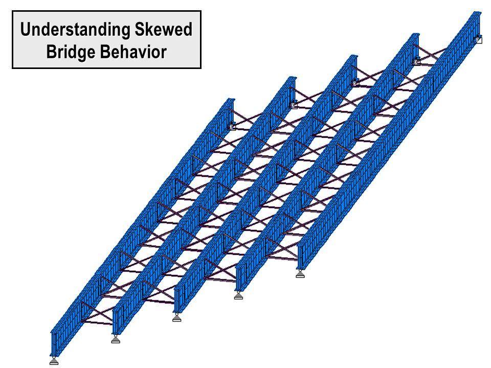 Understanding Skewed Bridge Behavior
