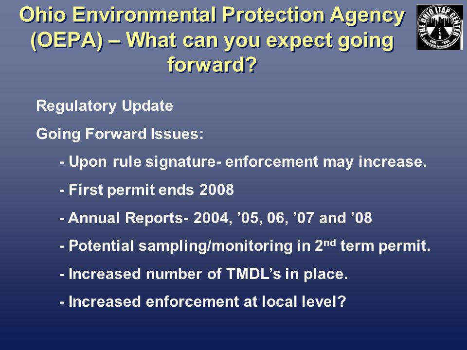 Storm Water Management – What is Expected.What does the permit require.